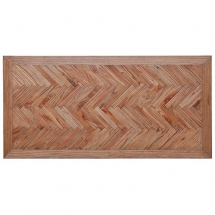 Parquetry Table top Antique Black